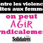 AGIR EFFICACEMENT CONTRE LES AGISSEMENTS SEXISTES ET SEXUELS