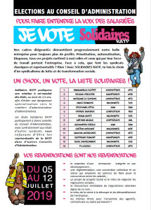 SolidairesRatp_Election2019Liste